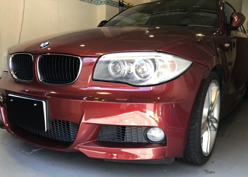 BMW1シリーズ ヘッドライトリペア