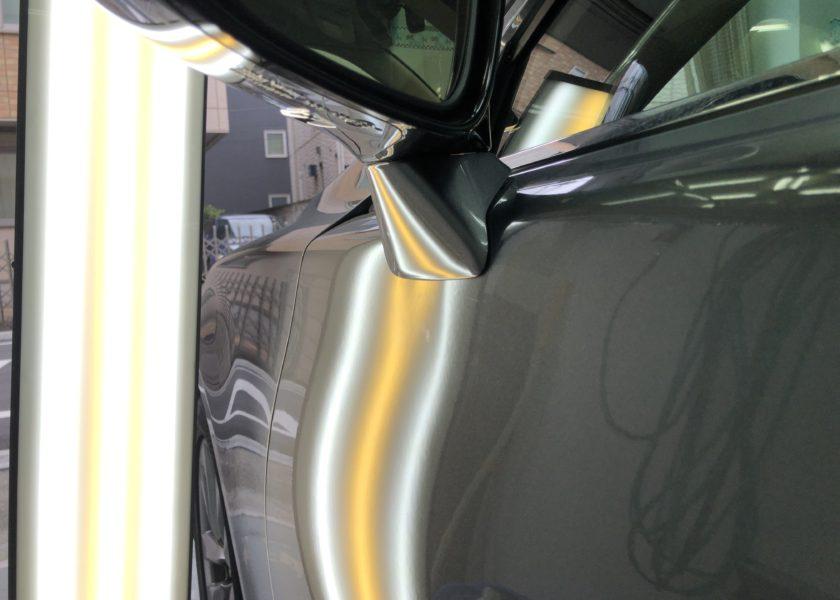 レクサスLS600h ドアのデントリペア